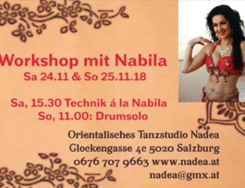 Workshop with Nabila Salzburg (24. – 25.11 2018)